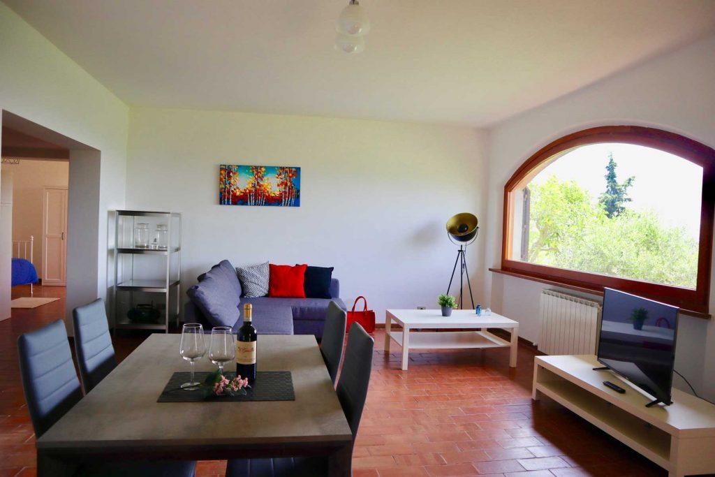 Living room- La Grande Finestra w Chiusi